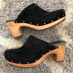 UGG Abbie Clog Black -Size 6